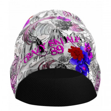 Ciapka CRAZY IDEA Spire Thermo W (Print tattoo/purple-grey) Dámska
