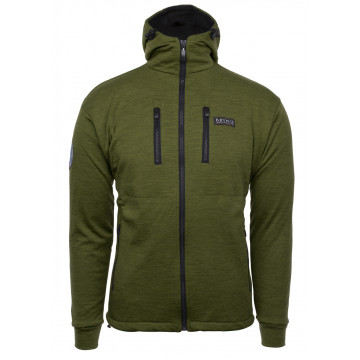 Bunda BRYNJE Antarctic Jacket w/hood (green)
