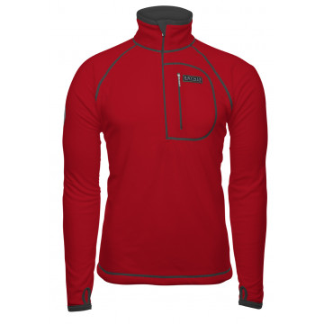 Rolak BRYNJE Polar Fleece Skipulli (red)