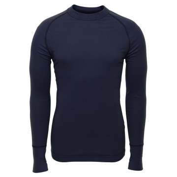 Tričko BRYNJE Arctic Shirt w/thumbfingergrip (navy)