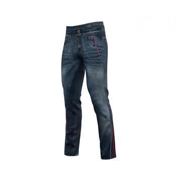 Nohavice CRAZY Idea Super Jeans Red 15RE
