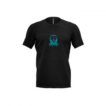Tricko CRAZY Idea Gulliver T-shirt (black)