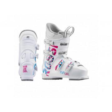 Lyžiarky ROSSIGNOL Fun Girl J3 (white) Jr.