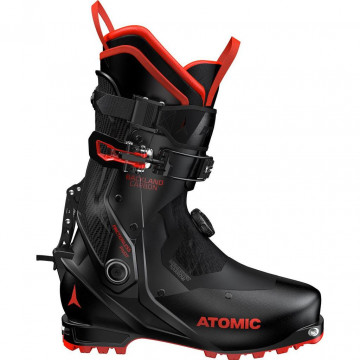 Lyziarky ATOMIC Backland Carbon (502026 black-red)