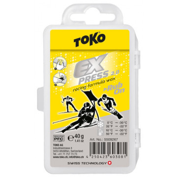 Vosk TOKO Expr Rac Rub-On White (5509267) 40g