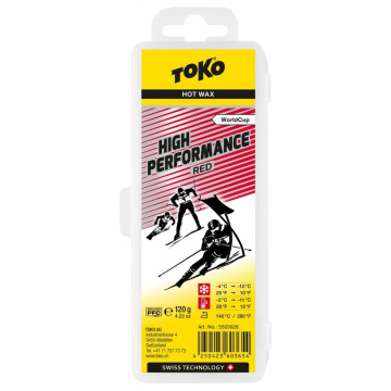 Vosk TOKO High Perfor Red (5503026) 120g
