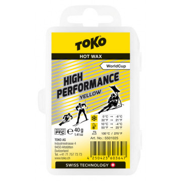 Vosk TOKO High Perfor Yellow (5501025) 40g