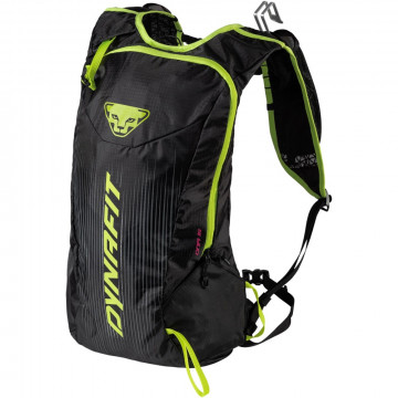 Batoh DYNAFIT Dna 16l (black-green 6708)