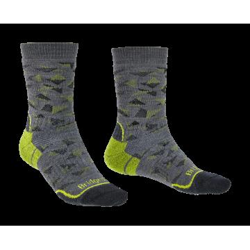 Ponožky BRIDGEDALE Hike MW MP Boot (lime)