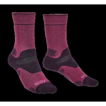 Ponožky BRIDGEDALE Hike MW MP Boot (grey) Dámske