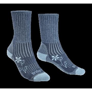 Ponožky BRIDGEDALE Hike MW MC Boot (blue) Dámske