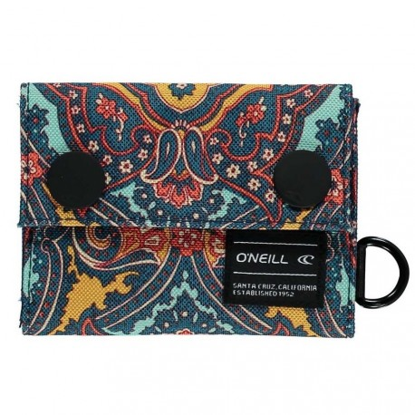 O´Neill BM PocketBook Wallet Yellow AOP