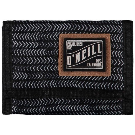 O´Neill BM PocketBook Wallet Black AOP