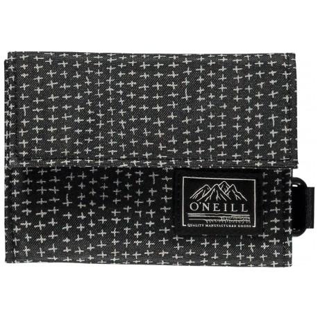 O´Neill BM PocketBook Wallet Black AOP