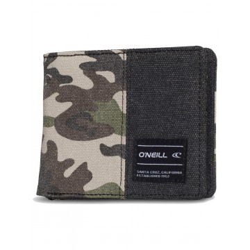 O´Neill AC Barrel Wallet Green AOP
