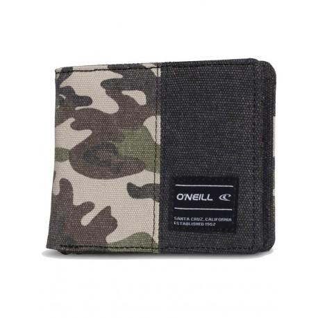 O´Neill AC Barrel Wallet Green AOP