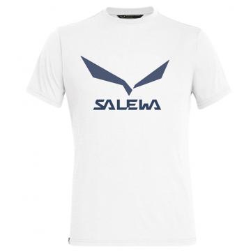 Tricko SALEWA Solidlogo Dry M (0060 white)