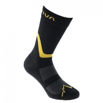Ponožky LA SPORTIVA Hiking socks black/yellow