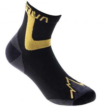 Ponožky La Sportiva ULTRA RUNNING SOCKS black/yellow
