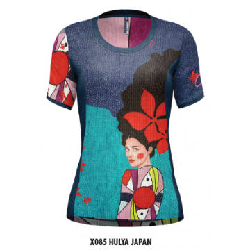 Tričko CRAZY Idea Delta X085 Hulya Japan