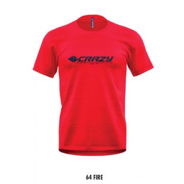Tricko CRAZY Idea Logo (64 Fire/red)