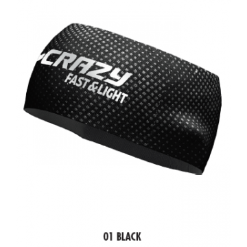 Čelenka CRAZY Idea Sharp Cup (01 black)