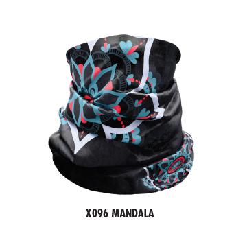 Nákrčník CRAZY Idea X096 Mandala