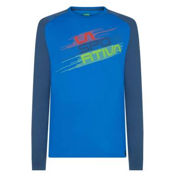 Tričko LA SPORTIVA Stripe Evo LS (blue)