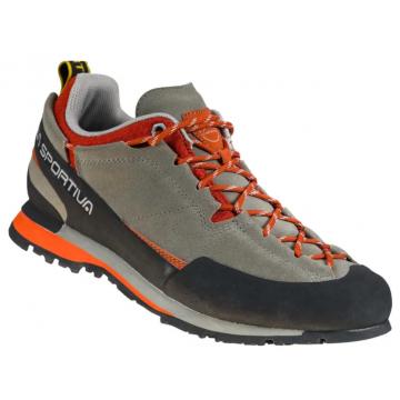 Obuv LA SPORTIVA Boulder X clay/saffron (grey/orange)