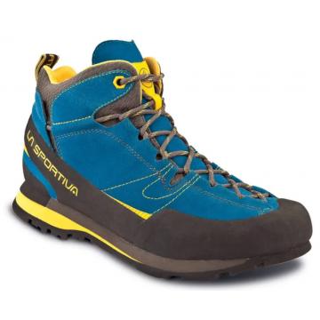 Obuv LA SPORTIVA Boulder X Mid GTX (blue/yellow)