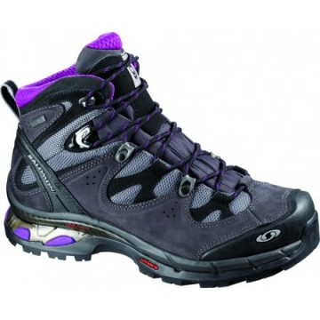 Salomon Comet D Lady GTX Pewter/Asphalt/Anemone Purple
