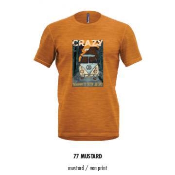 Tricko CRAZY Idea Gulliver (77 mustard/orange)
