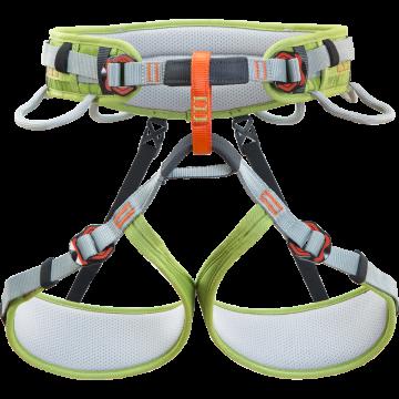 Sedačka Climbing Technology 7H1460 ASCENT green/grey