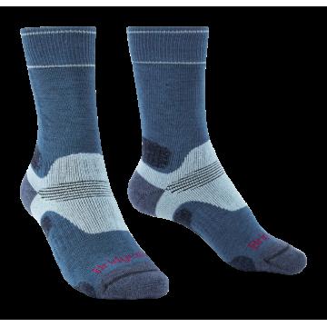 Ponožky BRIDGEDALE Hike MW MP Boot (blue) Dámske