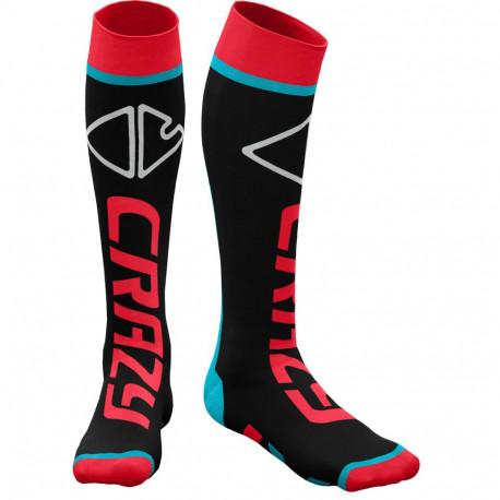Ponožky CRAZY Idea Carbon 44 lambada