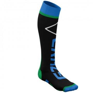 Ponožky CRAZY Idea Carbon 87 GR miami-green