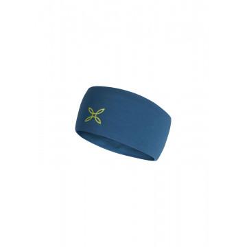 Čelenka MONTURA Merino BFC15X 8347 teal blue-lime green
