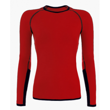 Tricko TERMOVEL Wool Sunny DR red