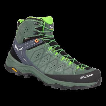 Obuv SALEWA Alp Trainer Mid Gtx 61382 5322 raw green-pale frog