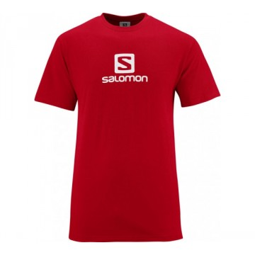 Tričko SALOMON Cotton Tee (red)