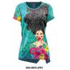 Tričko CRAZY Idea Aloha X086 Hulya Apple