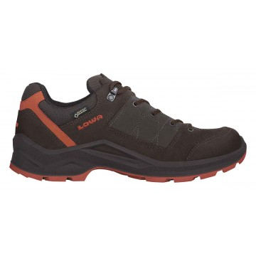 Lowa Terrios GTX Lo Dark Brown/Rust