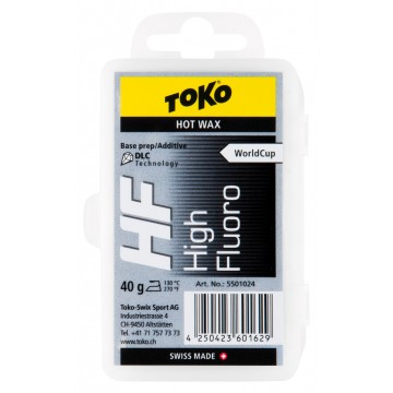 Toko HF Hot Wax Black 5501024 - 40g