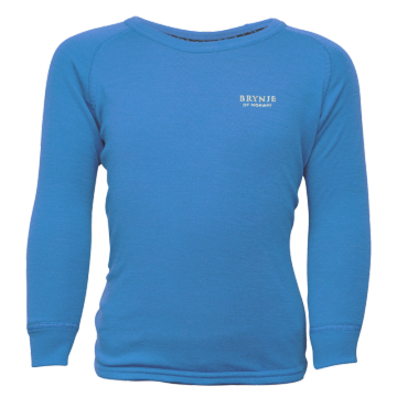 Tričko BRYNJE Arctic Children Shirt (sky blue)
