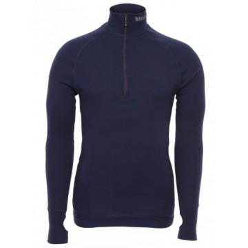 Rolák BRYNJE Arctic Zip Polo 3/4 neck (navy)