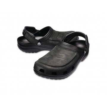 Slapky CROCS Yukon Vista (black)
