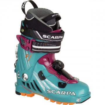 Lyžiarky SCARPA F1 (arctic blue/purple) Dámske