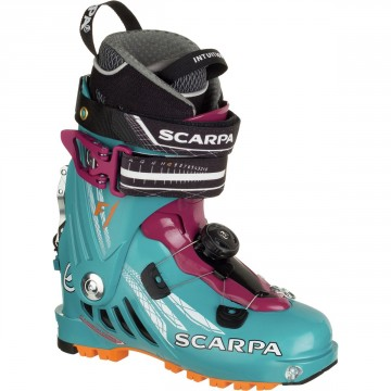 Lyžiarky Scarpa F1 Evo Manual Wms arctic blue/purple