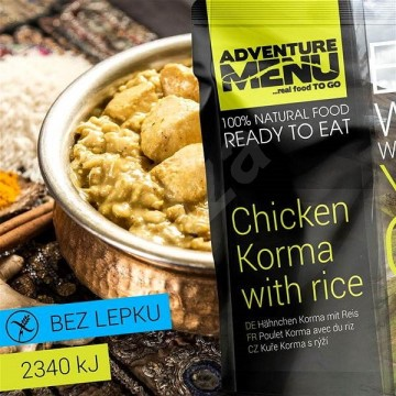 Adventure Menu:Kura Korma s rybou