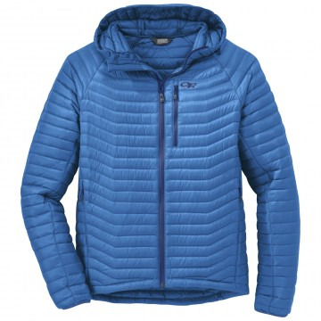 Bunda Outdoor Research VERISMO HOODED DOWN - Glacier (modrá)